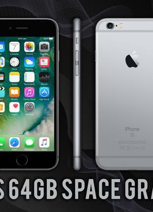 Смартфон IPhone 6S 64gb Space Gray NEVERLOCK