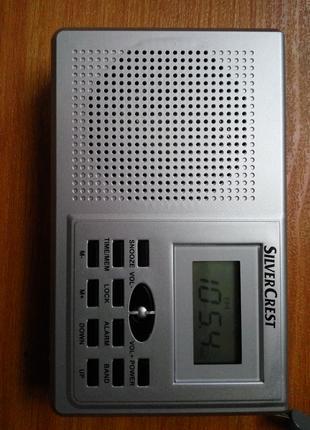 Новый профессиональный радиоприемник FM, AM, SW. Silver Crest Гер