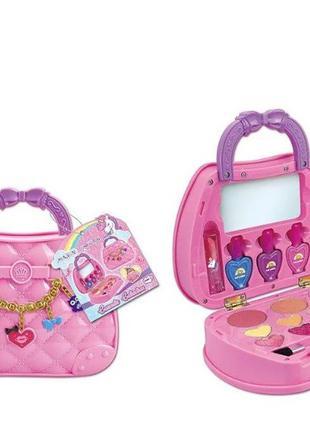 Набор детской косметики в сумочке для макияжа и маникюра J-1020