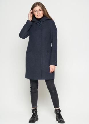 Пальто belanti 186 модель,цвет изумрудный