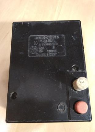 Автоматический выключатель АП50Б-3МТУ3.2, 10А, б/у