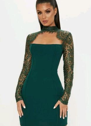 Платье, PRETTYLITTLETHING, PLT, размер UK 12 (EUR 40)