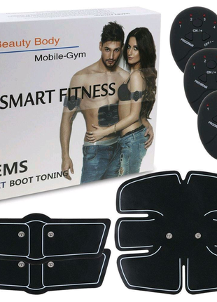 Тренажер Smart Fitness EMS стимулятор мышц 3 в 1