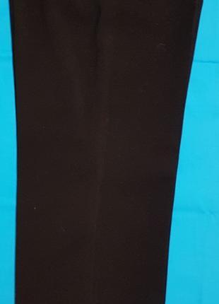 БРЮКИ Мужские черного цвета однотонные - новые