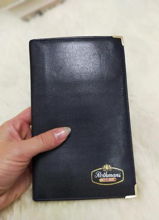 Мужской элитный кошелёк купюрник картхолдер rothmans