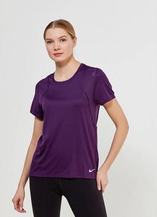 Спортивная футболка nike dry-fit running s/m