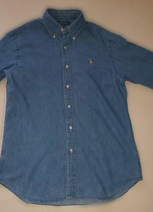 Рубашка Ralph Lauren джинсовая