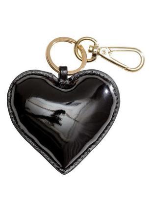 Брелок для ключей или на сумку сердце от h&m