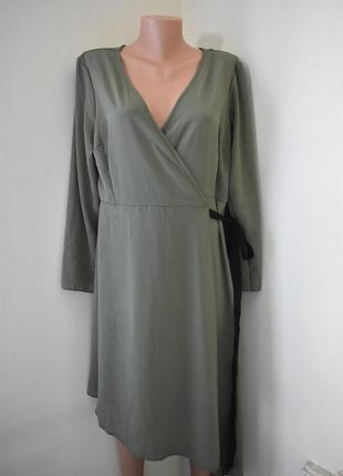 Новое платье на запах