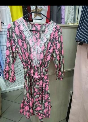 Шикарное  итальянское платье!