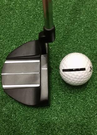 Клюшка паттер для гольфа с чехлом