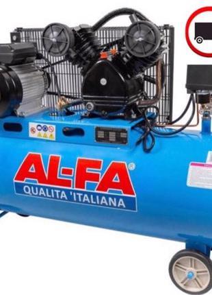 Компрессор AL-FA ALC150-2 ( 3.8 кВт , 740 л/мин) Гарантия 1 год!!