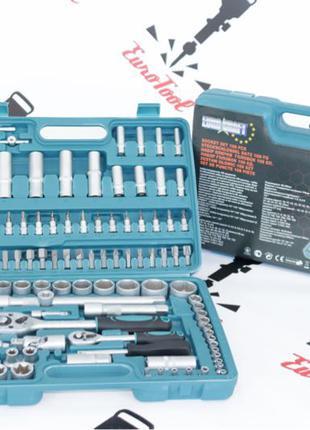 Набор головок ключей инструментов Euro Craft 108 елементов