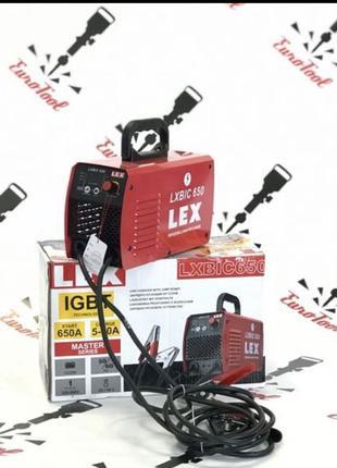 Инверторное пуско-зарядное устройство LEX LXBIC 650A Poland