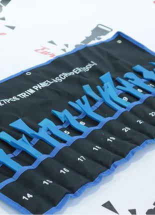 Инструмент лопатки набор для снятия клипс обшивки салона 27 ел