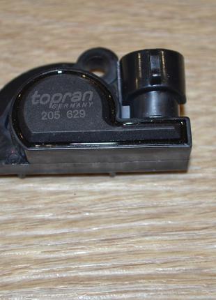 Датчик положения дроссельной заслонки TOPRAN 205 629, 825484