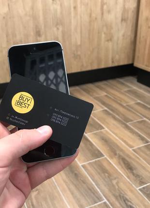 Apple iPhone SE 64GB Space Gray  Neverlock (58721)