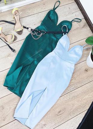 Нереально красивое платье с королевского атласа