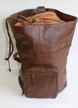 Рюкзак. натуральная кожа.