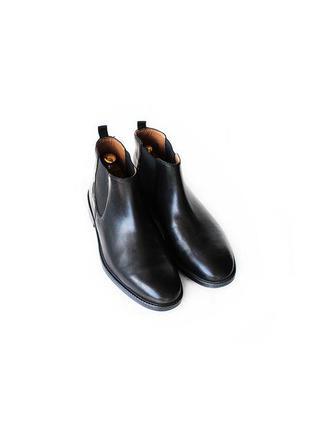 Кожаные челси clarks ботинки оригинал англия