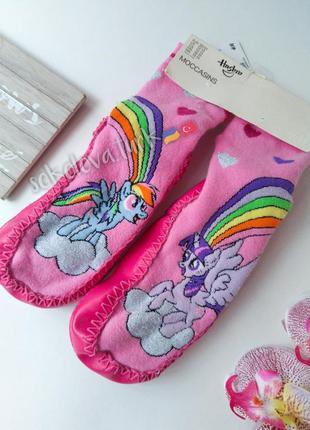 Мокасины тапки тапочки носки мой маленький пони 30-31 от h&m