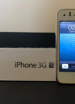 Iphone 3gs 8gb white neverlock