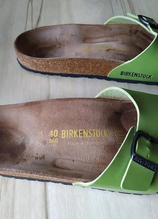 Birkenstock 40 р Ортопедические шлепанцы босоножки