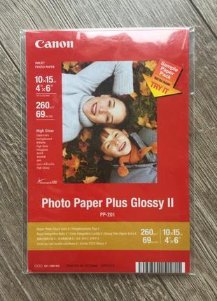 Фотобумага Canon Plus Glossy II PP-201