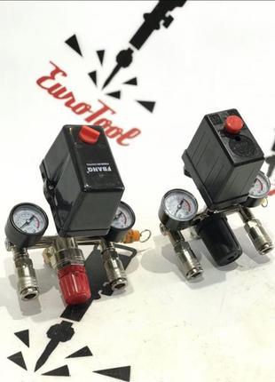 Автоматика для компрессора 220В 380В прессорат для компрессора