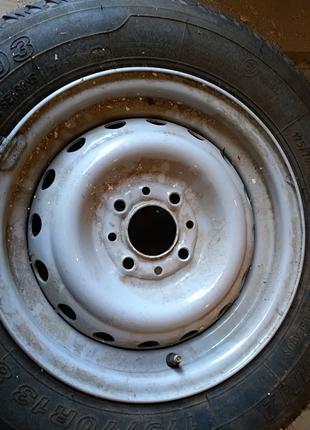 Колесо R13 (диск+шина)