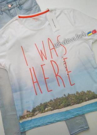 Летняя футболка lc waikiki турция