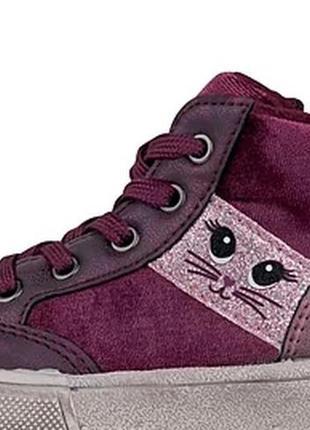 Демисезонные ботинки для девочки lupilu, германия