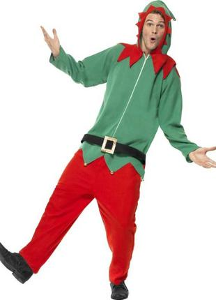 Пижама Кигуруми домашняя одежда новогодний эльф новогодняя ёлка