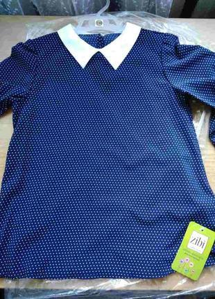 Блузка для девочки рост 134