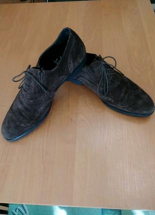 Туфли оксфорды мужские