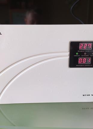 Стабилизатор напряжения Real-El Stab Slim-2000 White