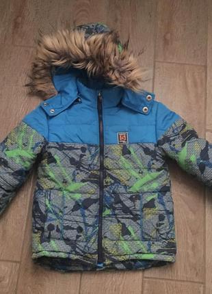 Куртка для мальчика деми еврозима курточка пуховик