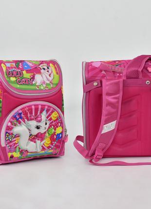 Портфель рюкзак школьный каркасный - ортопедическая спинка , 3D!