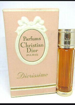Christian dior diorissimo 7. 5 ml 0. 25 oz pure parfum духи