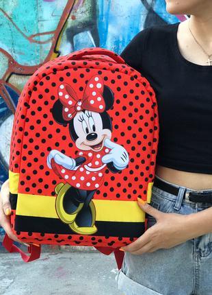 Школьный рюкзак Антивор Mickey