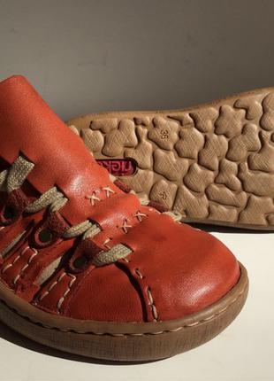 Женские кожаные сандалии босоножки Rieker 36 р. оригинал