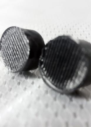 Набійки для взуття в каблук 2 шт круглі з металевим стрижнем