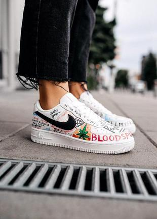 Nike air force 1 low graffiti