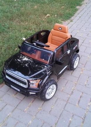 Электромобиль Jeep EVA-резина!MP3-плеер!Новая в коробке!+пульт!