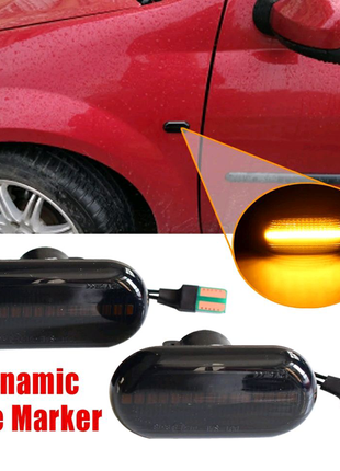 Динамические указатели поворотов Renault Nissan Opel