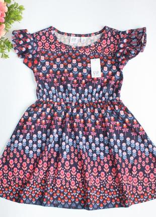 Нарядное платье gap р4-5 лет