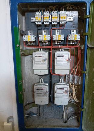 Профессиональный ремонт электрощитовых