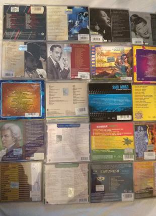 CD разных жанров для коллекции