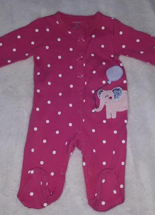 Человечек, слип, пижама для малышки