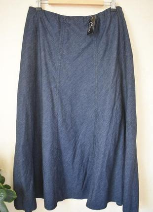 Новая джинсовая юбка большого размера bm